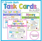 Math Activities Task Cards BUNDLE - 1st Grade Problem Solv