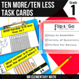 Ten More & Ten Less - 1st Grade Math Flip and Go Cards