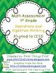 1st Grade Math Test Operations and Algebraic Thinking