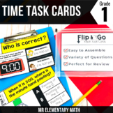 Time Task Cards 1st Grade Math Centers
