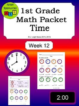 Time Math Packet - Week 12