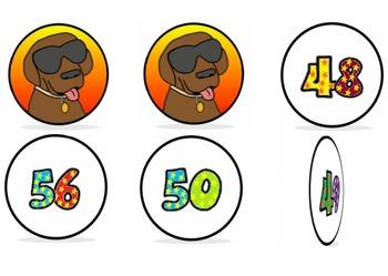 1st Grade Math Top Dog Video Clips 1.NBT.B.3 (Powerpoint Version)