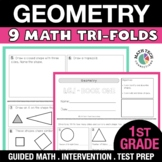 1st Grade Geometry - Identify and Describe Shapes, Create