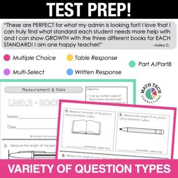 1st Grade Math Tri-Folds - 1.MD.1 - 1.MD.4
