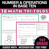 1st Grade Place Value, Addition and Subtraction Strategies Math Practice