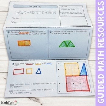 1st Grade Math TriFolds - 5 FREE Booklets