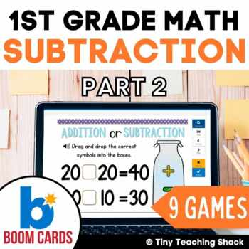 First Grade Math Unit 8: Subtraction Part 2