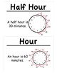 1st Grade Math Vocabulary Cards: Measurement (Large)