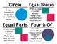 1st Grade Math Vocabulary Cards: Two-Dimensional Geometry