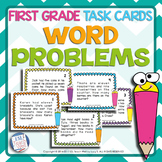 1st Grade Word Problems Task Cards | FIRST GRADE