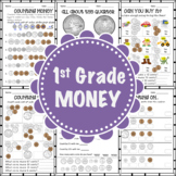 1st Grade - Money - Extra Practice Worksheets