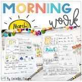 1st Grade Math and Literacy Common Core Morning Work April