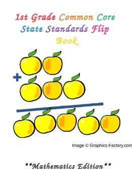 1st Grade Mathematics Common Core State Standards Flipbook