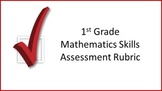 1st Grade Mathematics Skills Assessment Rubric