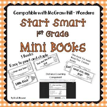 1st Grade Mcgraw Hill Wonders Start Smart Mini Books By Kristi Messner