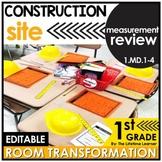 1st Grade Measurement Review   Construction Classroom Tran
