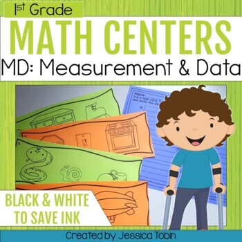 Measurement and Data- 1st Grade Math Centers