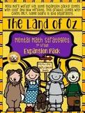 1st Grade Mental Math EXPANSION PACK for The Land of Oz Bo
