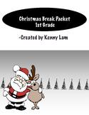 1st Grade Mini Christmas Packet