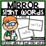 1st Grade Mirror Sight Words Center