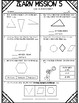 1st Grade Mission 5 Lessons 1-13 Assessments to help with Zearn