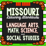 1st Grade Missouri Learning Standards