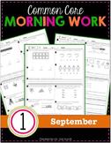 1st Grade Morning Work: September