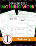 1st Grade Morning Work: February