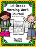 1st Grade Morning Work Journal Set 2 [second 10 weeks]