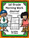 1st Grade Morning Work Journal Set 3 [third 10 weeks]