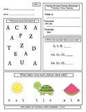 1st Grade Morning Work - Math and Language Arts Warm-up All Year!