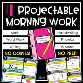 1st Grade Morning Work PowerPoints Unit from Teacher's Clubhouse