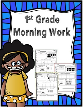 1st Grade Morning Work - September