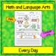 1st Grade Morning Work / Homework / Bell Work FREE 10 DAYS