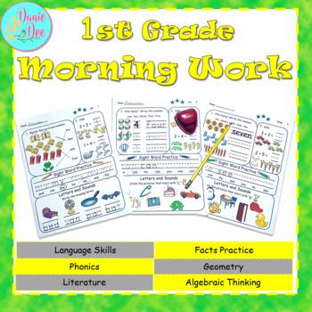 1st Grade Morning Work / Homework / Bell Work