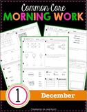 1st Grade Morning Work: December