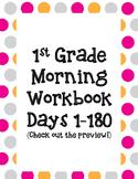 1st Grade Morning Workbook 1-180 **Common Core Aligned**