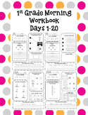 1st Grade Morning Workbook  1-20