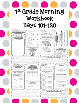 1st Grade Morning Workbook 101-120