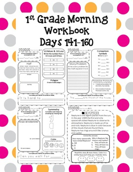 1st Grade Morning Workbook 141-160
