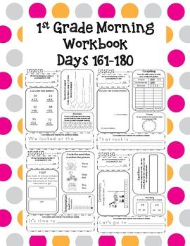 1st Grade Morning Workbook 161-180