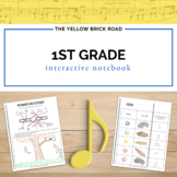 1st Grade Interactive Music Notebook