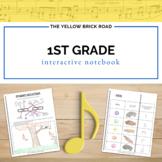 1st Grade Interactive Music Notebook