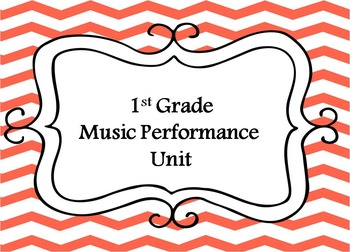 1st Grade Music Units Bundle