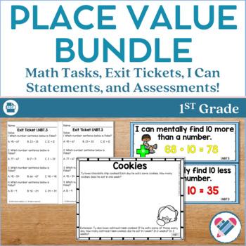 Place Value Bundle 1st Grade