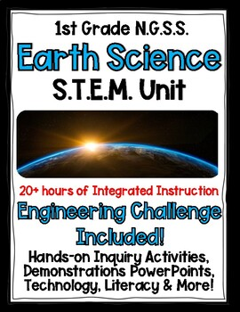 1st Grade NGSS Earth & Space Science COMPLETE Unit