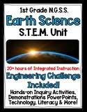 1st Grade NGSS Earth Science COMPLETE STEM UNIT!! Over 50 resources!
