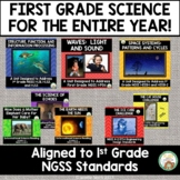 1st Grade Science NGSS Entire Year Bundle
