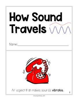 1st Grade NGSS Mini-Reader: How Sound Travels (1-PS4-1) +Review Questions & Key!