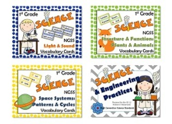 1st Grade NGSS Science Bundle